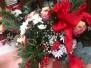 Blumen von Schülern für Lehrer zu Weihnachten